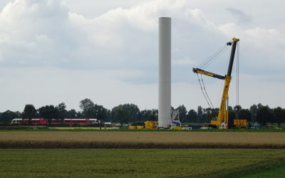 Windpark in Meeden